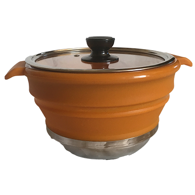 Collapsible pot