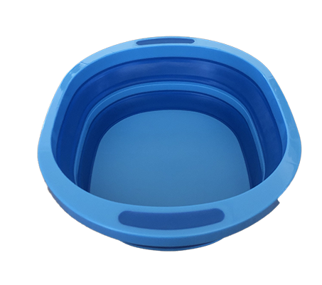 Collapsible wash tub