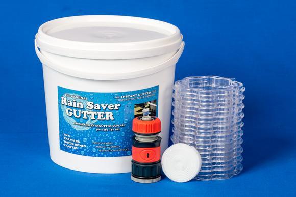 Rain saver gutter kit