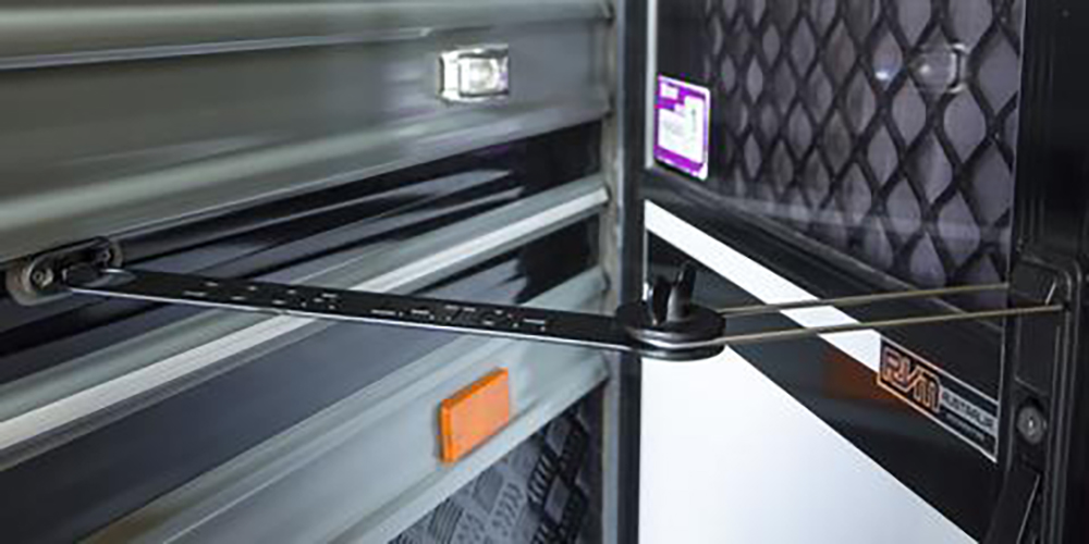 Caravan door latch extender