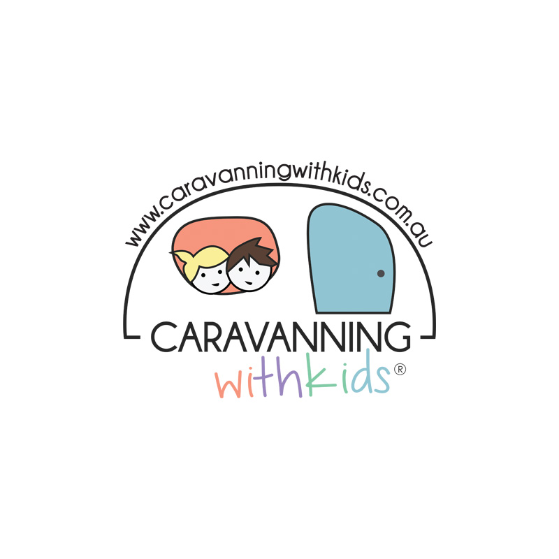 Caravanning with kids logo