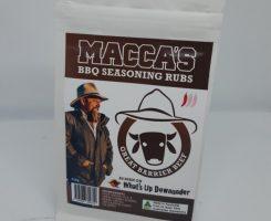 Macca's bbq seasoning rubs – great barrier beef 150g