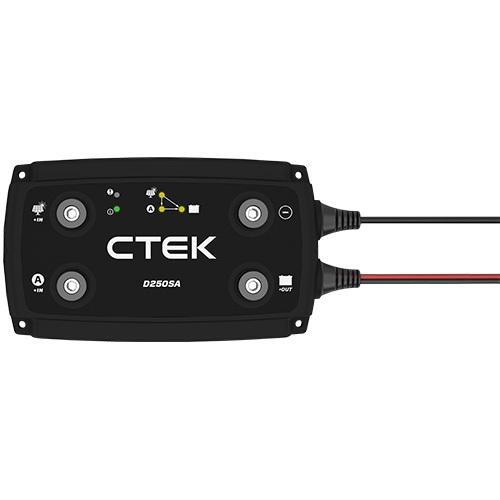 Ctek d250sa 20a dc/dc battery charger