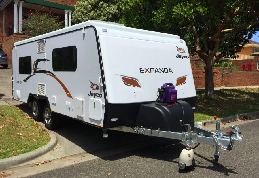 Optitec remote control caravan mover