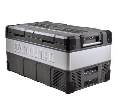 Factory seconds mycoolman 85l 'the adventurer' portable fridge/freezer – ccp85dz