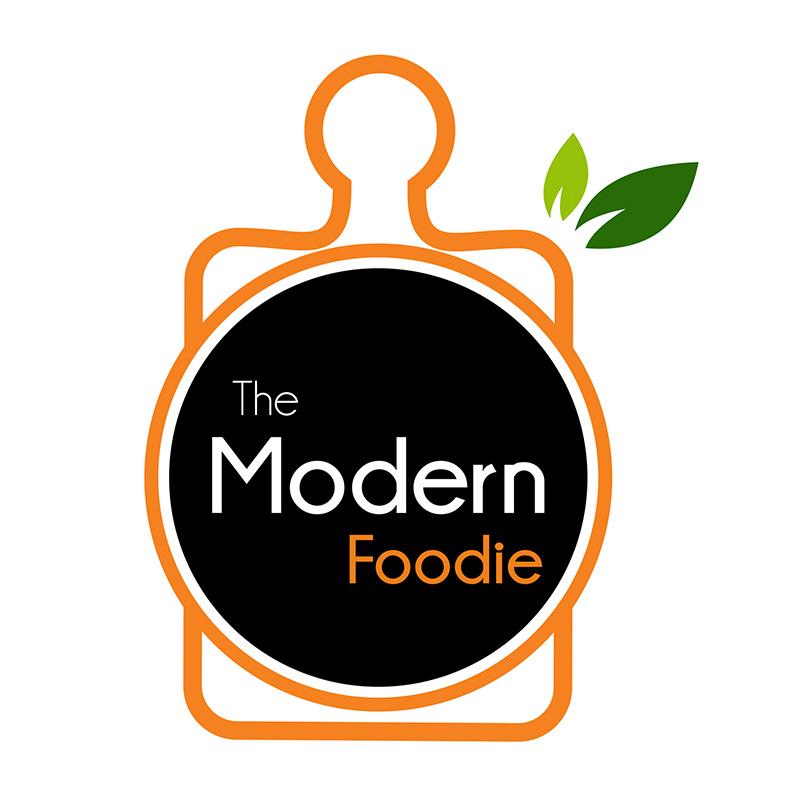Modern foodie logo