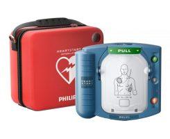 Heartstart first aid defibrillator