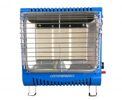 Companion portable lpg large camp gas heater comp232