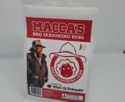 Macca's bbq seasoning rubs – great southern lamb 150g