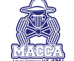Macca's sticker – macca was 'ere sticker x 2