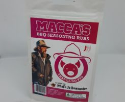 Macca's bbq seasoning rubs – that'll do pig 150g
