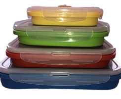 Collapsible containers 4 set