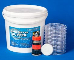 Rain saver gutter kit