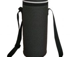 Stylish single wine bottle cooler bag